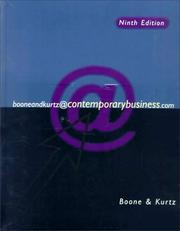 Cover of: Contemporary Business (The Dryden Press Series in Management)
