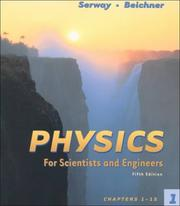 Cover of: Physics for Scientist and Engineers