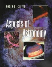 Cover of: Aspects of Astronomy | Roger B. Culver