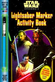 Cover of: Lightsaber Marker Activity Book