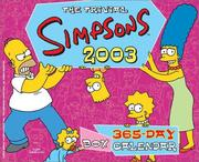 Cover of: The Trivial Simpsons 2003 365-Day Block Calendar