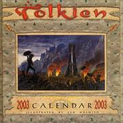 Cover of: Tolkien Calendar