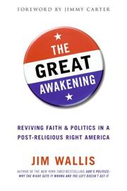 Cover of: The great awakening: reviving faith and politics in a post-religious right America