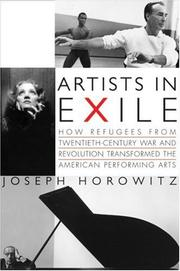 Cover of: Artists in exile