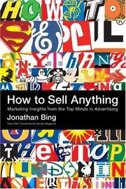Cover of: How to Sell Anything