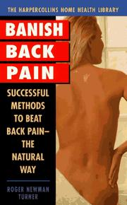 Cover of: Banish Back Pain