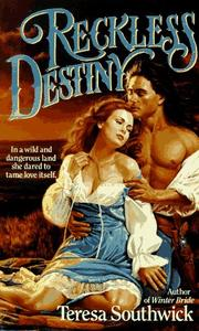 Cover of: Reckless Destiny