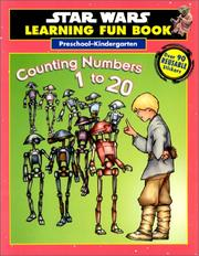 Cover of: Counting Numbers 1 to 20