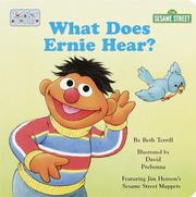 Cover of: What does Ernie hear?