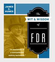Cover of: The Wit & Wisdom of FDR