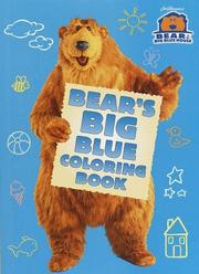 Cover of: Bear's Big Blue Coloring Book