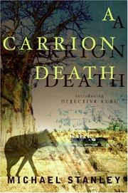 Cover of: A Carrion Death