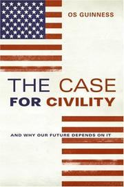 Cover of: The Case for Civility