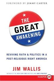 Cover of: The Great Awakening LP: Reviving Faith & Politics in a Post-Religious Right America