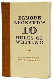 Cover of: Elmore Leonard's 10 Rules of Writing