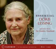 Cover of: Essential Doris Lessing CD: Excerpts from The Golden Notebook Read by the Author