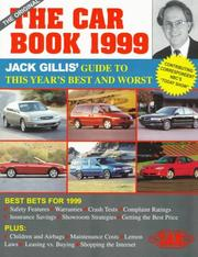 Cover of: The Car Book 1999 | Jack Gillis
