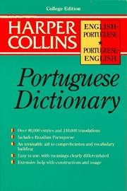 Cover of: Harper Collins Portuguese Dictionary | John Whitlam