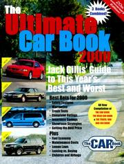 The Ultimate Car Book 2000 (The Ultimate Car Book, 2000)