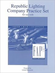 Cover of: Republic Practice Set