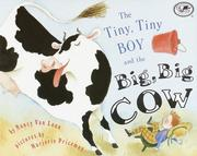 Cover of: The Tiny, Tiny Boy and the Big, Big Cow (Umbrella Book)