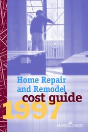 Cover of: Home Repair & Remodel Cost Guide 1997 | Marshall & Swift