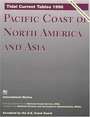 Cover of: Tidal Current Tables 1998 | National Oceanic and Atmospheric Adminis