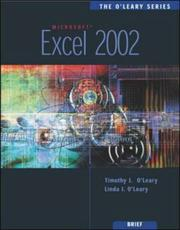 Cover of: Excel 2002 (O