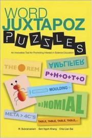 Cover of: Word Juxtapoz Puzzles | R. Subramaniam