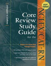 Cover of: Core Review Packaage for the | Margaret M. Dahlhauser