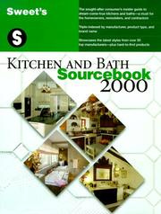 Cover of: Kitchen and Bath Sourcebook 2000 | Sweet