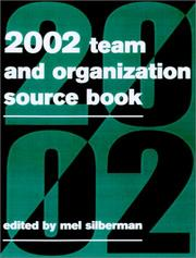 Cover of: The 2002 Team & Organization Development Sourcebook |