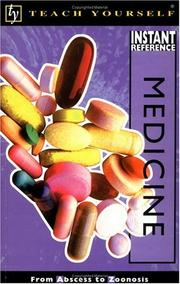 Cover of: Teach Yourself Instant Reference Medicine | Helicon