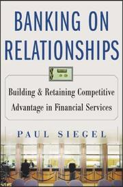 Cover of: Banking on Relationships | Paul Siegel