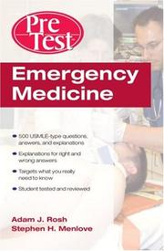 Cover of: Emergency medicine by