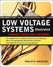 Cover of: Low-Voltage Systems Illustrated | Phillip H. Sheckler