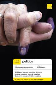 Cover of: Teach Yourself Politics