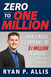 Cover of: Zero to One Million | Ryan P. Allis