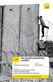 Cover of: Teach Yourself The Israeli-Palestinian Conflict | Ross, Stewart.