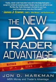 Cover of: The New Day Trader Advantage | Jon Markman