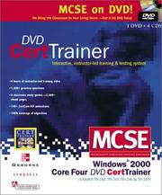 Cover of: McSe Windows 2000 Core Four Dvd Cert Trainer | Syngress Media Inc