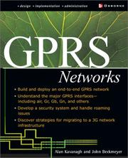 Cover of: Gprs Networks (Network Professional