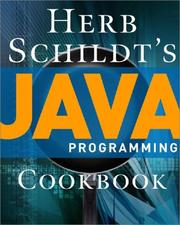 Cover of: Herb Schildt's Java Programming Cookbook