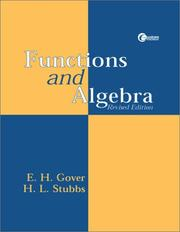 Cover of: Functions and Algebra, Revised Edition | Eugene Gover