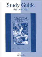 Cover of: Study Guide for use with Financial Accounting | Robert Meigs