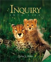 Cover of: Inquiry Into Life with ESP CD-ROM and E-Text CD-ROM