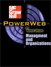 Cover of: Powerweb | Fred H. Maidment
