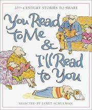 Cover of: You Read to Me & I