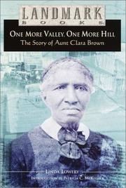 Cover of: One More Valley, One More Hill