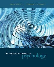 Cover of: Research Methods in Psychology | Chris Spatz